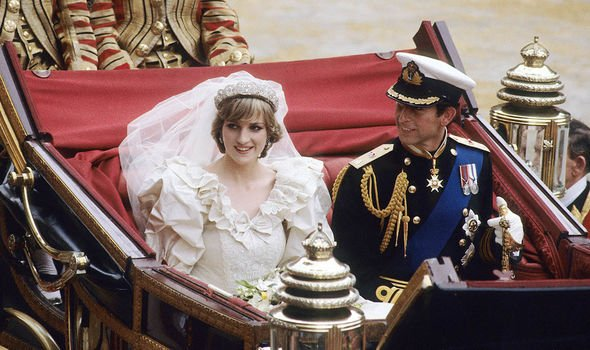 Princess Diana married Prince Charles in Image GETTY