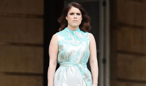 Princess Eugenie shock Princess Eugenie breaks with the royal dress code traditions Image GETTY