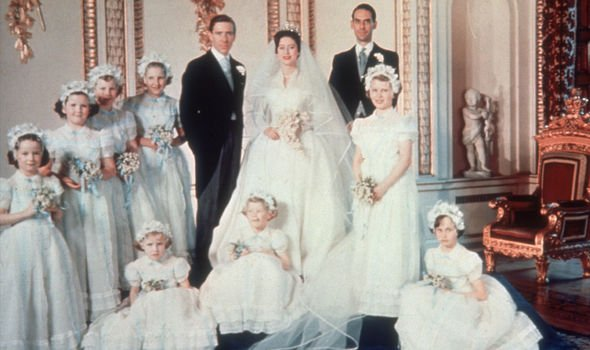 Princess Margarets wedding portrait with Antony Armstrong Jones Image Getty