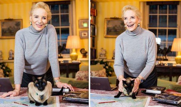 Princess Michael of Kent at home at Kensington Palace Image Getty