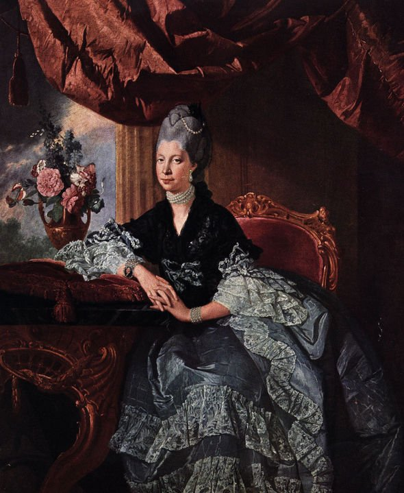 Queen Charlotte the consort of King George III Image Hulton Archive Getty