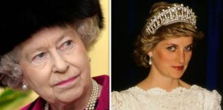 Queen ELizabeth II and Princess Diana Image Getty