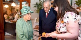 Queen Elizabeth The monarch asked if it was possible not to pay for items Image GETTY