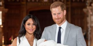 Royal Baby news Archie Harrison made his first public appearance on Wednesday Image Getty