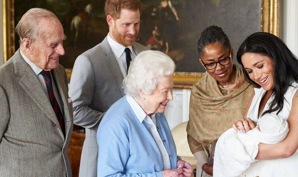 Royal Baby news Meghan and Harry named their child Archie Harrison Mountbatten Windsor Image PA