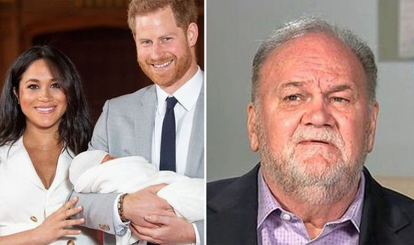 Royal baby news Meghan Markle may have been inspired by childhood memories with her father Image PA ITV