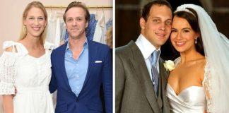 Royal wedding Lady Gabriellas brother got married in Image GETTY