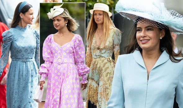 Royal wedding Pippa Middleton and Carole Middleton both arrived looking chic Image PA REX