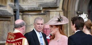 Sarah Ferguson and Prince Andrew make rare joint appearance at royal wedding Photo C GETTY IMAGES