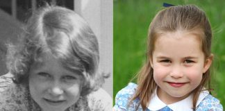 Some people think Princess Charlotte looks like the Queen Photo C PA
