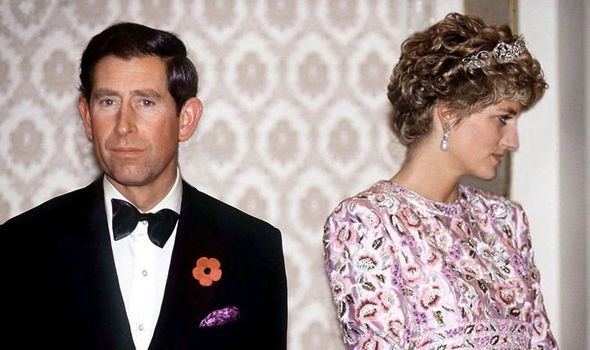 Tense times at the royal banquet Diana was not meant to attend Image GETTY