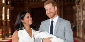 The Duke and Duchess of Sussex welcomed their new baby son last week Image GETTY