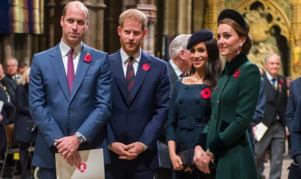 The ITV host said the Sussexes must let the Duke and Duchess of Cambridge be the bigger stars Image C GETTY