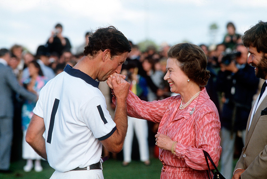 The Queen and Prince Charles Photo C Getty Images