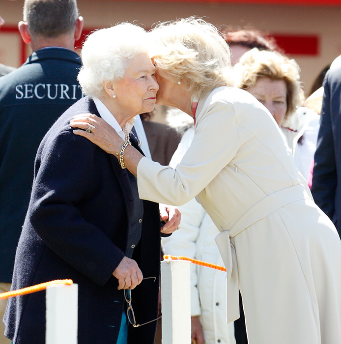 The Queen and the Duchess of Cornwall Photo C Getty Images