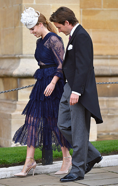 The couple made their royal wedding debut Photo C GETTY IMAGES
