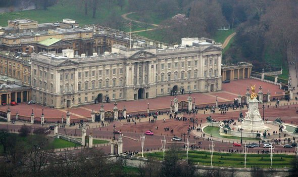 The exact quarters the couple will have in Buckingham Palace has not been decided yet Image GETTY