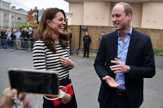 These next few weeks are always a bit daunting the first time round Kate said Photo C GETTY IMAGES