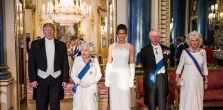 All the best photos from President Donald Trumps banquet dinner with the Queen and royal family Photo C GETTY IMAGES