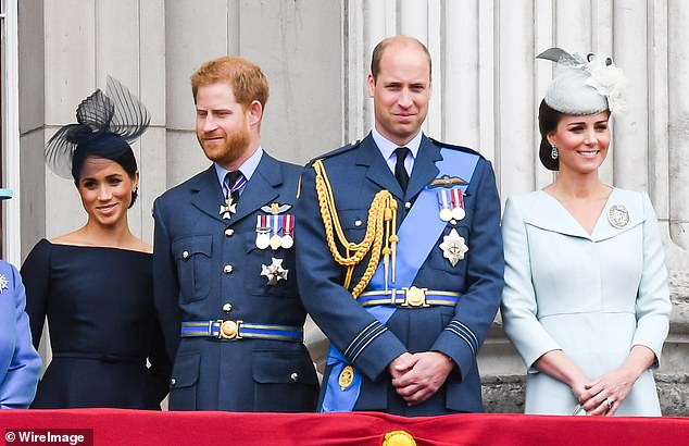 At Trooping the Colour and at her Windsor Castle photo call with Prince Harry and newborn son Archie