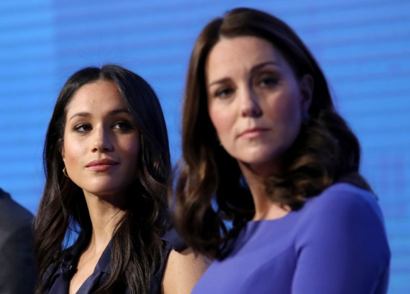 At the beginning it was thought the alleged rift was between Meghan Markle and Kate Middleton Photo Getty Images