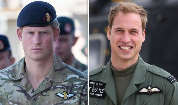 Both Prince William and Harry joined the Army in their s Image GETTY