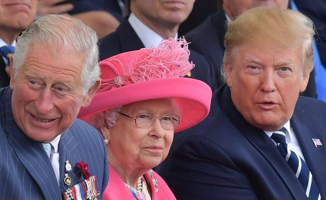 Britains Prince Charles Prince of Wales L Britains Queen Elizabeth II Photo C Getty Images