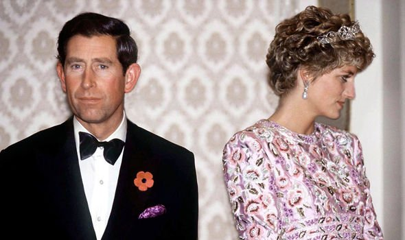 Charles and Dianas relationship was frosty and their body language non existant Image GETTY