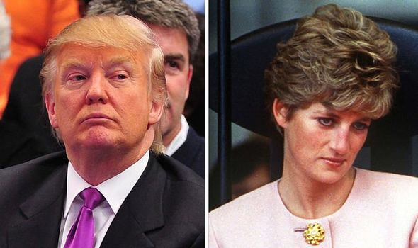 Donald Trump courted Princess Diana claims expert Image GETTY