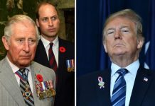 "Donald Trump was reportedly ""deliberately snubbed"" by both Prince William and Prince Charles Image GETTY"