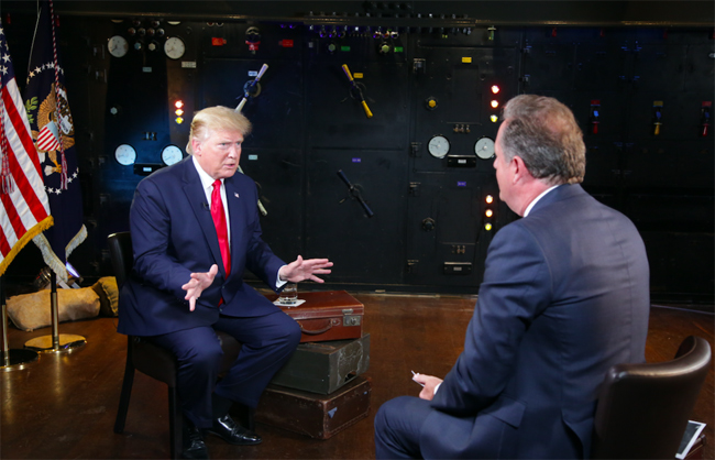 I think we had a great conversation Trump said of his meeting with Prince Charles