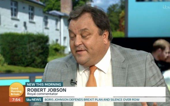 ITV Good Morning Britain Robert Jobson described it as an own goal Image ITV