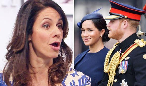 Julia Bradbury reflects on meeting Meghan and Harry Image WENN • GETTY