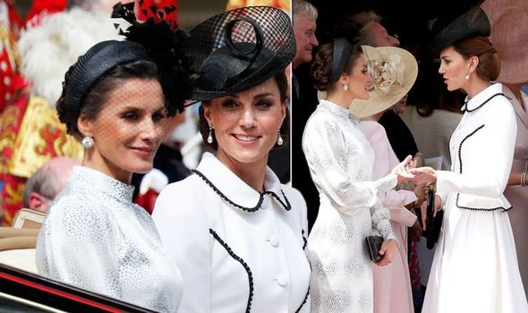Kate Middleton and Queen Letizia rift Body language expert reveals truth Image GETTY