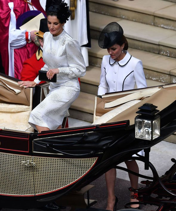 Kate Middleton and Queen Letizia rift Twitter users seemed convinced of a rift Image GETTY