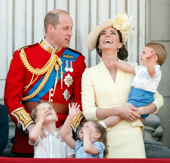 Kate Middleton changed The duchess looked happy with her family at Trooping the Colour Image GETTY
