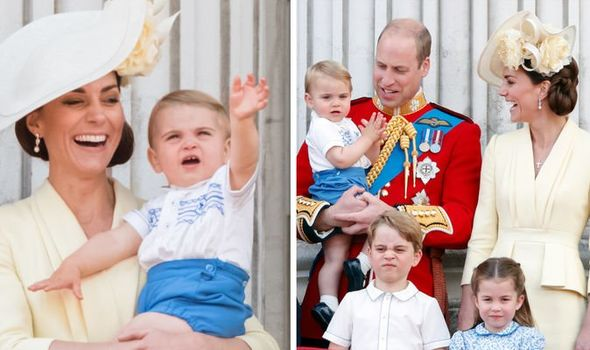 Kate Middleton children Is Prince Louis Kate's favourite child Image GETTY