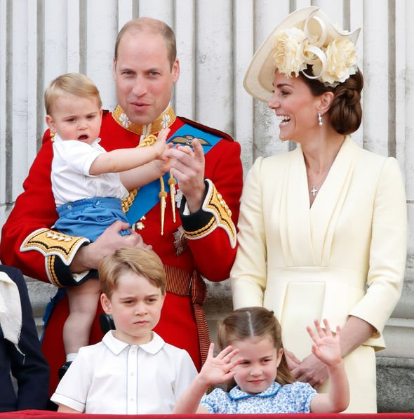 Kate Middleton children Louis stole the spotlight at Trooping the Colour Image GETTY
