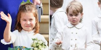 Kate Middleton children Princess Charlotte and Prince George have been bridal attendants four times Image GETTY