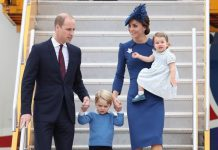 Kate Middleton family shock The Duke and Duchess of Cambridge and their children in Canada Image CHRIS JACKSON GETTY