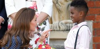 Kate Middleton has revealed heartbreaking parenting struggle at Chelsea Flower Show Image GETTY