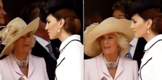 Kate Middleton news Did she really ignore Camilla Parker Bowles with Queen Letizia in this video Image ROYA FAMILY