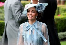 Kate Middleton news Prince Williams wife smiled as she made her way in to Ascot Image PA