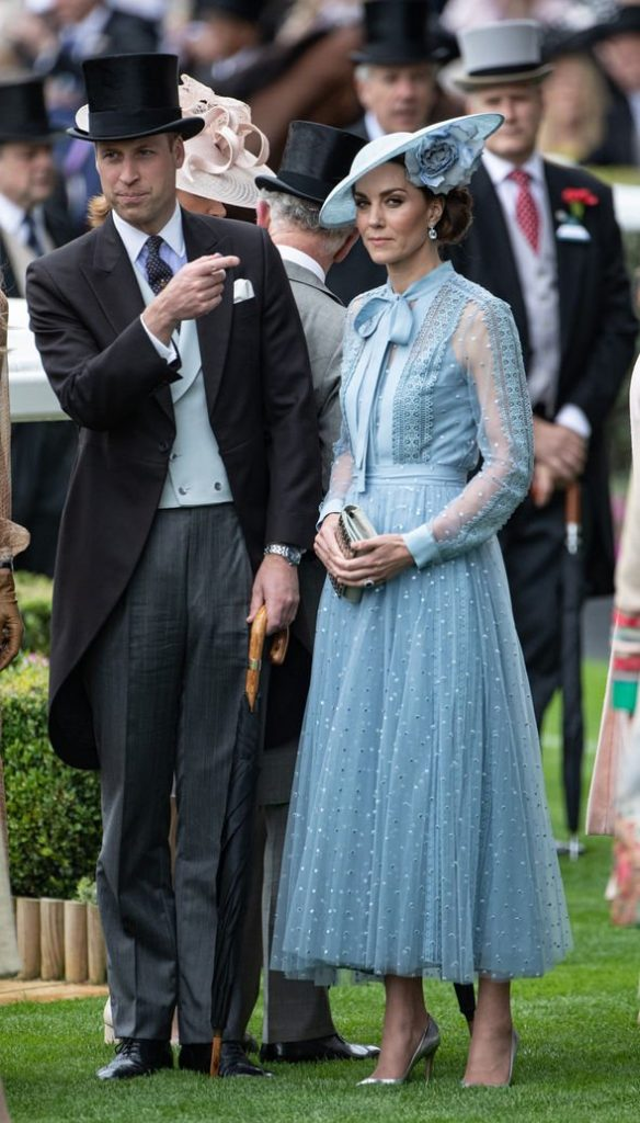 Kate Middleton pregnant Kate and William showed a united front Image GETTY