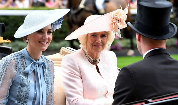 Kate Middleton pregnant Kate arrived at Ascot with Prince William Image GETTY