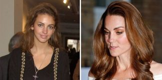 Kate is said to have phased out her former friend Rose Hanbury L Image GETTY