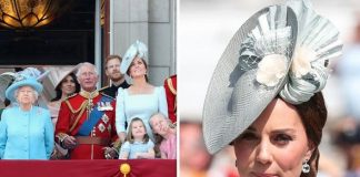 Kate the Duchess of Cambridge at Trooping of the Colour last year Image GETTY