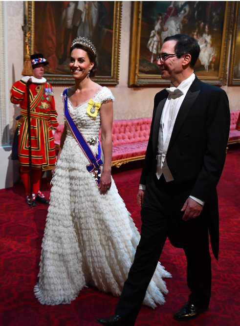 Kate was a vision in her Alexander McQueen gown Photo C getty Images