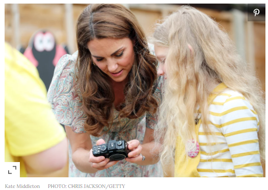 Kate was made an Honorary Member of the Royal Photographic Society in January