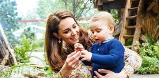 Louis has been a regular on the Cambridges social media accounts Image AFP Getty Images